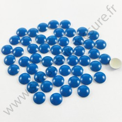 Clou thermocollant rond - BLEU FLUO - 2mm, 3mm, 4mm, 5mm, 6mm